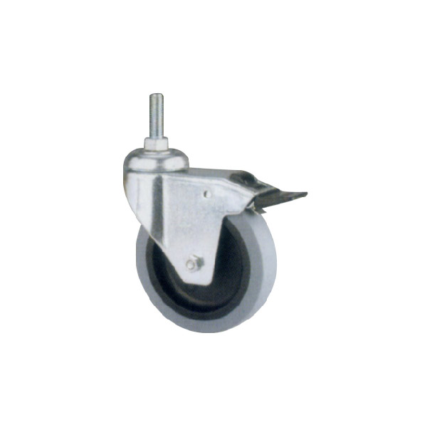 Industrial Caster With Threaded Stem (114116)