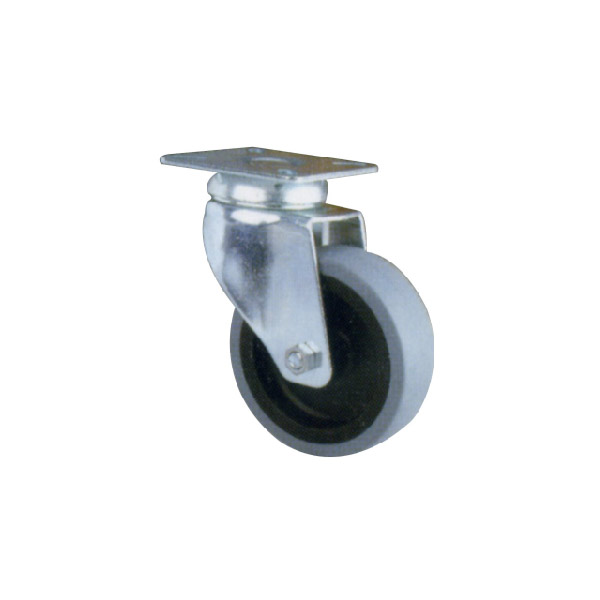 Industrial Caster With Swivel Plate (114117)