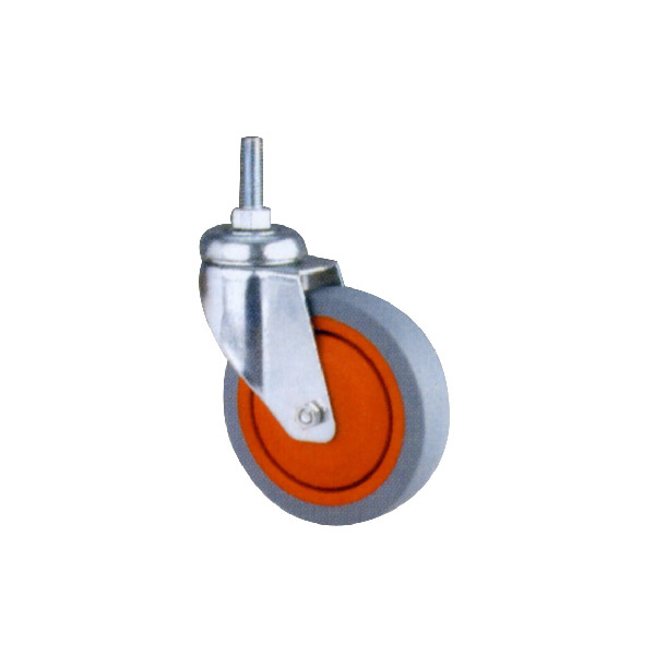 Industrial Caster with Threaded Stem, Ball Bearing (114121)