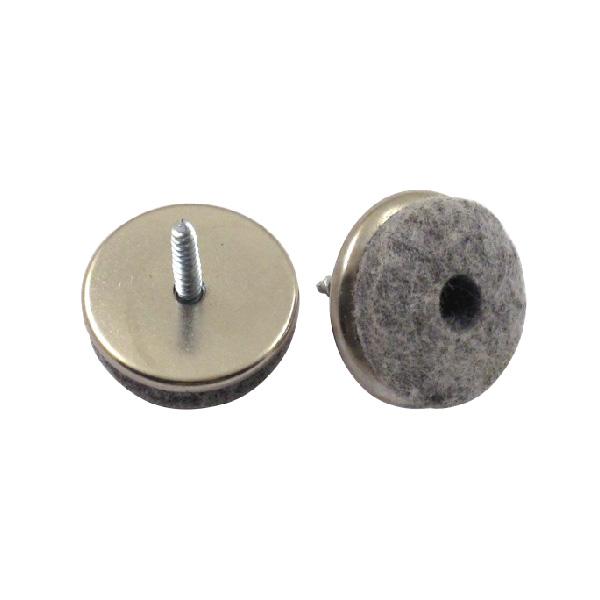 Wool Felt Metal Glides (106115)