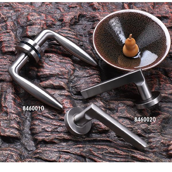 Stainless Steel Door Handle (846-P62-1)